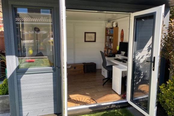 Composite Garden Office Sheffield