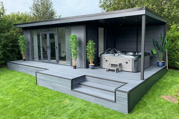 Hot Tub Garden Studio Sheffield