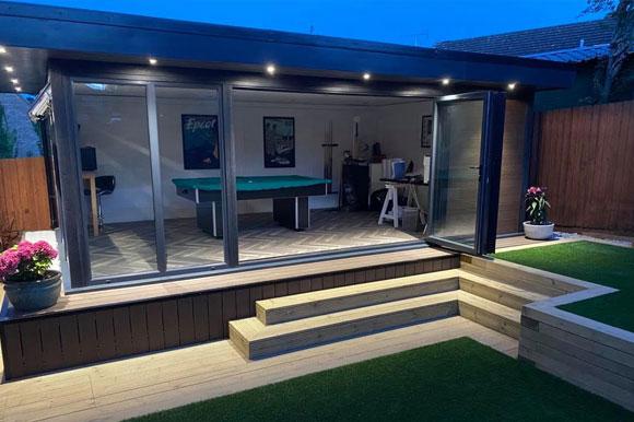 Relaxing Garden Studio Retreats Sheffield