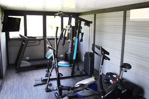 Garden Gym Retreat Sheffield