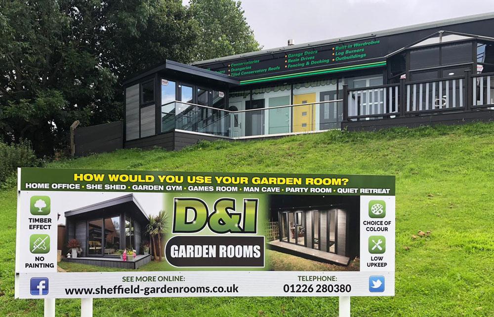 D And I Garden Rooms Showroom6